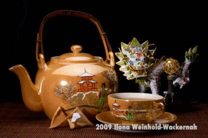 Fotografie Tee-Genuss China gold – Drache © 2009 Ilona Weinhold-Wackernah