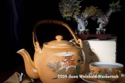 Fotografie Tee-Genuss China mit Drache © 2009 Ilona Weinhold-Wackernah