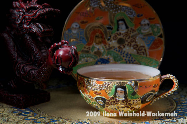 Fotografie Tee-Genuss Chinatasse mit Drache © 2009 Ilona Weinhold-Wackernah