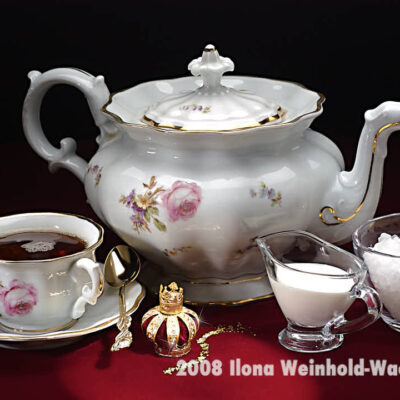Fotografie Tee-Genuss Goldkrone © 2008 Ilona Weinhold-Wackernah