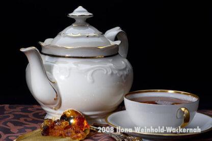 Fotografie Tee-Genuss Goldrand natur © 2008 Ilona Weinhold-Wackernah