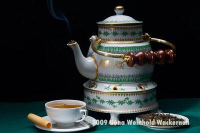 Fotografie Tee-Genuss Irische Kanne © 2009 Ilona Weinhold-Wackernah