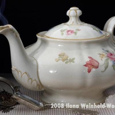 Fotografie Tee-Genuss Natur mit Blumen © 2008 Ilona Weinhold-Wackernah