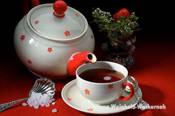 Produktbild Tee-Genuss Rotweiß © 2008 Ilona Weinhold-Wackernah