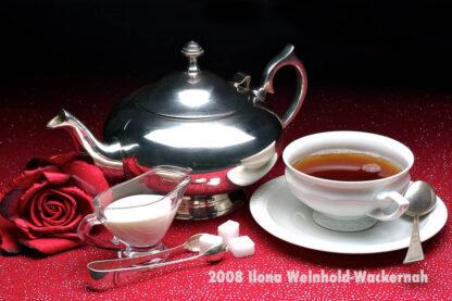 Fotografie Tee-Genuss Silber pur © 2008 Ilona Weinhold-Wackernah