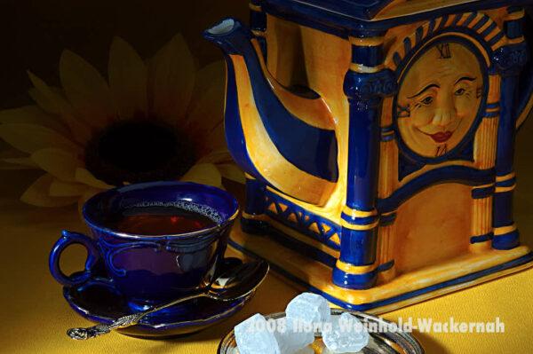 Fotografie Tee-Genuss Sonne © 2008 Ilona Weinhold-Wackernah