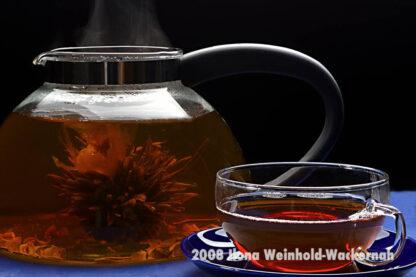 Fotografie Tee-Genuss Teeblume © 2008 Ilona Weinhold-Wackernah