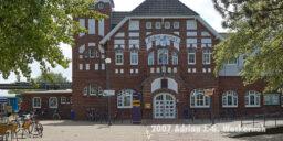 Fotografie Wangerooge Bahnhof © 2007 Adrian J.-G. Wackernah