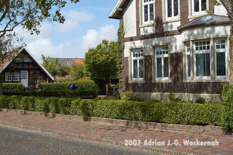 Fotografie Wangerooge Dorf © 2007 Adrian J.-G. Wackernah