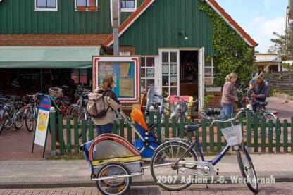 Fotografie Wangerooge Fahrradladen © 2007 Adrian J.-G. Wackernah