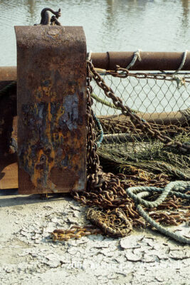 Fotografie Wangerooge Fischerei © 2002 Adrian J.-G. Wackernah