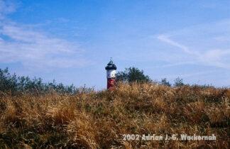 Fotografie Wangerooge Leuchtturm © 2002 Adrian J.-G. Wackernah
