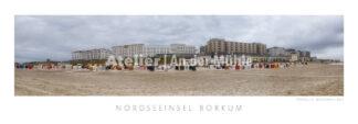 Fotografie Borkum Strandpanorama © 2014 Adrian J.-G. Wackernah - 001049