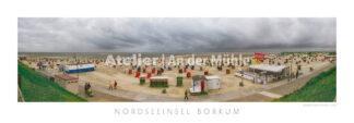 Fotografie Borkum Strandpanorama © 2014 Adrian J.-G. Wackernah - 001050