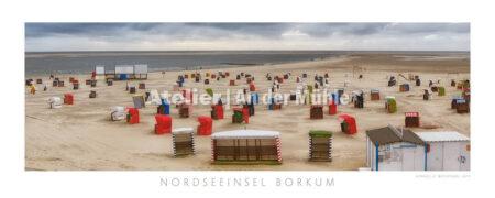 Fotografie Borkum Strandpanorama © 2014 Adrian J.-G. Wackernah - 001051