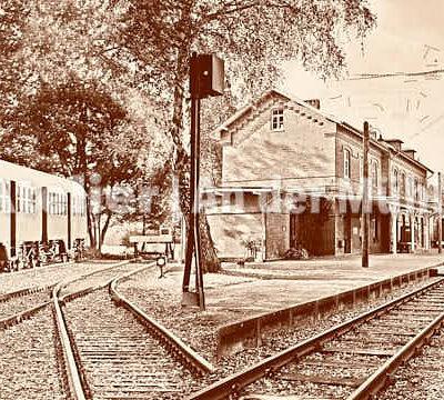 Fotografie Kompositionen Bederkesa Bahnhof © 2018 Adrian J.-G. Wackernah - 000970