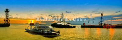 Fotografie Kompositionen Bremerhaven Hafeneinfahrt © 2017 Adrian J.-G. Wackernah - 001042