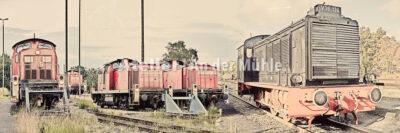 Fotografie Kompositionen Bremerhaven Lokomotiven © 2018 Adrian J.-G. Wackernah - 000971