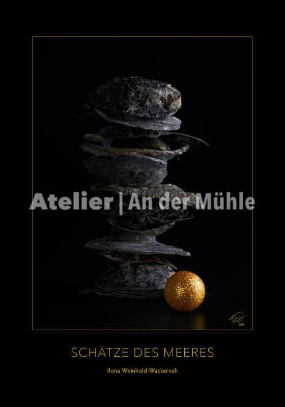 Fotografie Schätze des Meeres Goldene Kugel © 2015 Ilona Weinhold-Wackernah - 000856