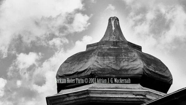 Fotografie Borkum Roter Turm © 2003 Adrian J.-G. Wackernah - 001100