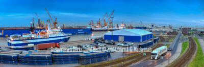 Fotografie Bremerhaven Docks Lloyd Werft © 2014 Adrian J.-G. Wackernah - 001077