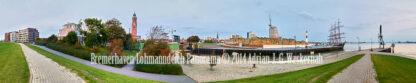 Fotografie Bremerhaven Lohmanndeich Panorama © 2014 Adrian J.-G. Wackernah - 001081
