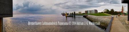 Fotografie Bremerhaven Lohmanndeich Panorama © 2014 Adrian J.-G. Wackernah - 001082