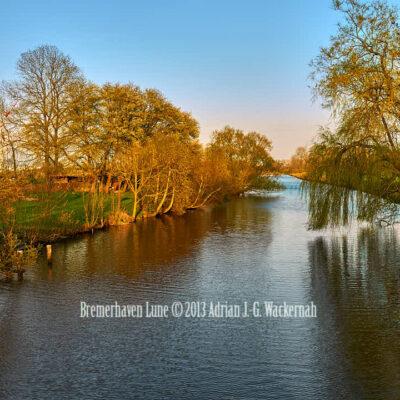 Fotografie Bremerhaven Lune © 2013 Adrian J.-G. Wackernah - 001072