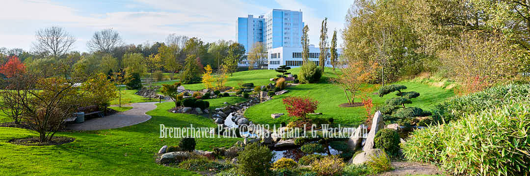 Fotografie Bremerhaven Park © 2013 Adrian J.-G. Wackernah - 000397