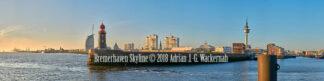 Fotografie Bremerhaven Skyline © 2018 Adrian J.-G. Wackernah - 001053