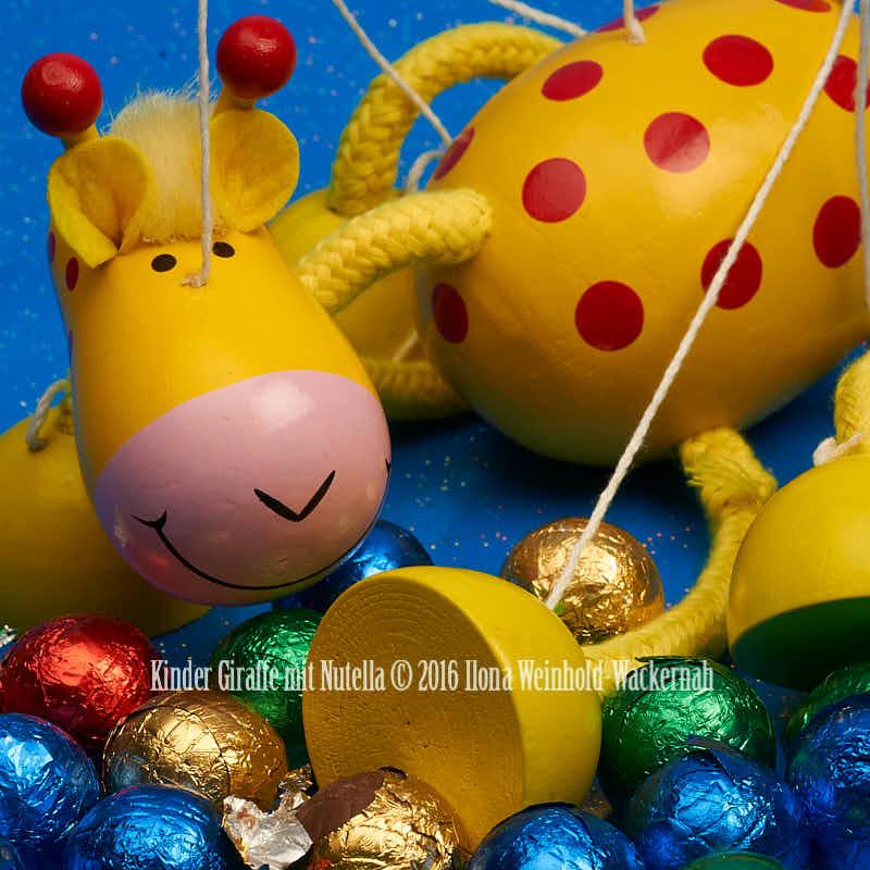 Fotografie Kinder Giraffe mit Nutella © 2016 Ilona Weinhold-Wackernah - 001093