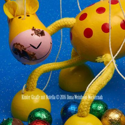 Fotografie Kinder Giraffe mit Nutella © 2016 Ilona Weinhold-Wackernah - 001094