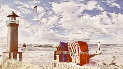 Fotografie Kompositionen Juist Strand © 2018 Adrian J.-G. Wackernah - 001084