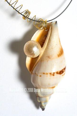 Detail Muschelkette 09 © 2018 Ilona Weinhold-Wackernah