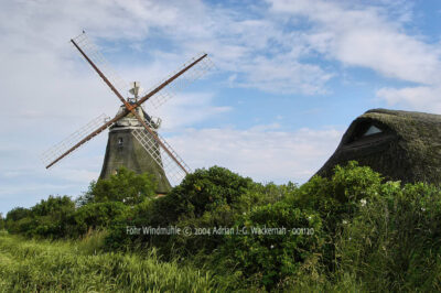 Fotografie Föhr Windmühle © 2004 Adrian J.-G. Wackernah - 001120
