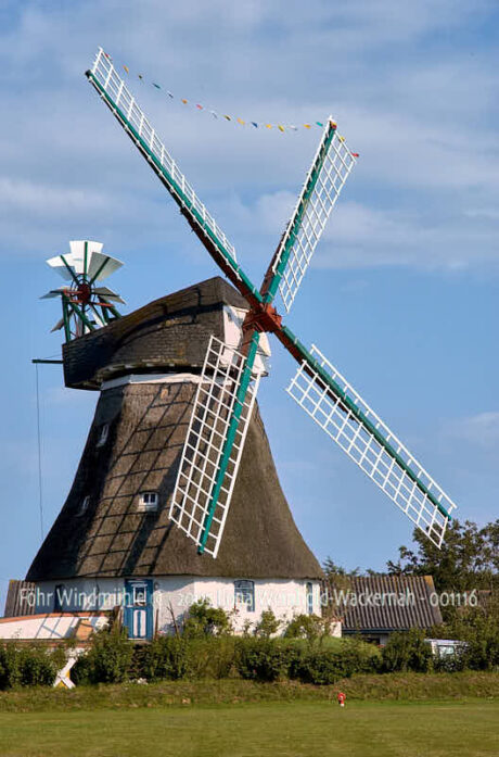 Fotografie Föhr Windmühle © 2005 Ilona Weinhold-Wackernah - 001116