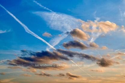 Fotografie Juist Herbsthimmel © 2018 Adrian J.-G. Wackernah - 001142