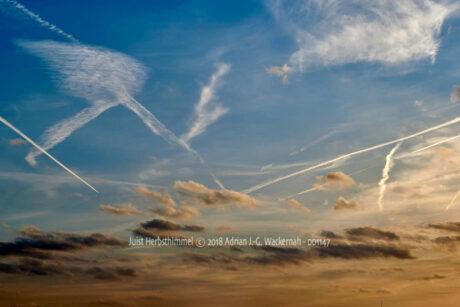 Fotografie Juist Herbsthimmel © 2018 Adrian J.-G. Wackernah - 001147