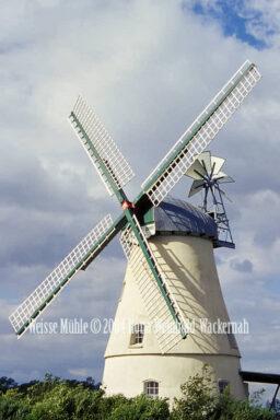 Fotografie Lüdingworth Weisse Mühle © 2004 Ilona Weinhold-Wackernah - 000758