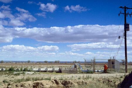 Fotografie Ciudad Juárez Brunnen © 1981 Adrian J.-G. Wackernah - 001164