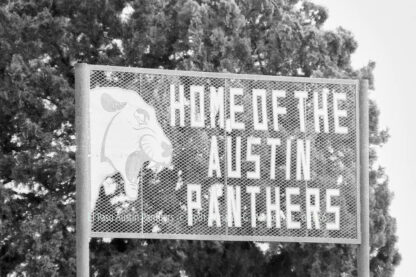 Fotografie El Paso Austin Panthers © 1981 Adrian J.-G. Wackernah - 001156