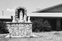 Fotografie El Paso Heiligenstatue © 1981 Adrian J.-G. Wackernah - 001154