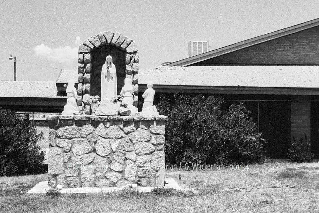 El Paso Heiligenstatue