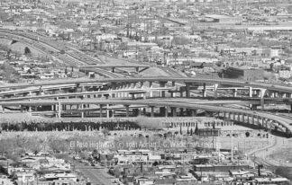 Fotografie El Paso Highways © 1981 Adrian J.-G. Wackernah - 001153