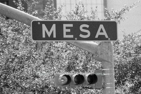 Fotografie El Paso MESA © 1981 Adrian J.-G. Wackernah - 001159