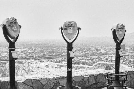 Fotografie El Paso Point of View © 1981 Adrian J.-G. Wackernah - 001157