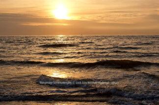 Fotografie Wangerooge Sonnenuntergang © 2006 Ilona Weinhold-Wackernah - 001007