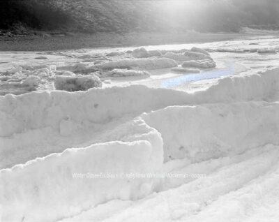 Fotografie Winter Ostsee-Eis blau 1 © 1985 Ilona Weinhold-Wackernah - 000910