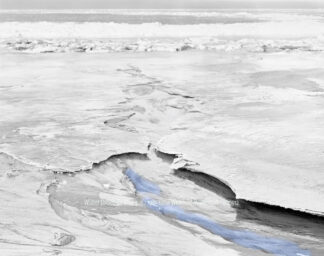 Fotografie Winter Ostsee-Eis blau 4 © 1985 Ilona Weinhold-Wackernah - 000912