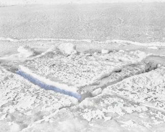 Fotografie Winter Ostsee-Eis blau 5 © 1985 Ilona Weinhold-Wackernah - 000916